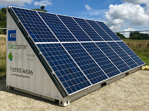 solatainer off grid power source